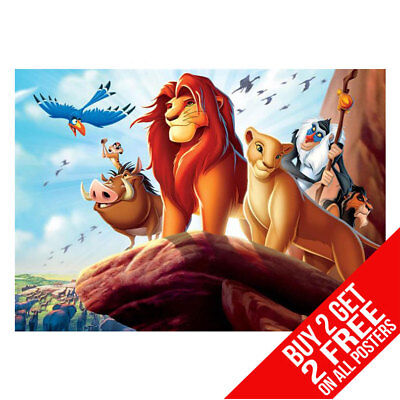 Disney Lion King Poster Art Print A4 A3 - Buy 2 Get Any 2 Free