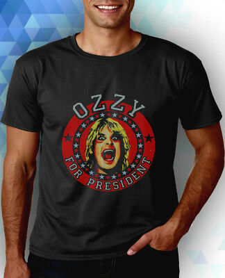 bbee7c2c74e OZZY FOR PRESIDENT Ozzy Osbourne tour shirt 2004 ozzfest spirit of ...