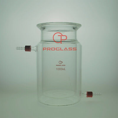 Proglass Separate Jacket Reactor 1000mL With Flange