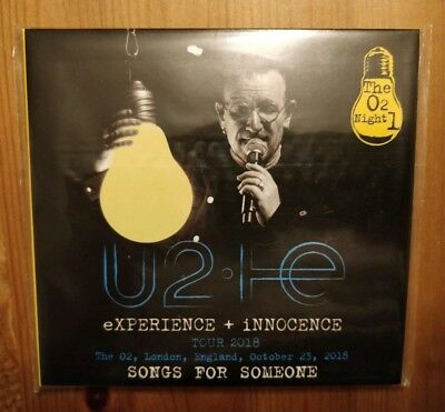 U2 - Songs for Someone (Golden Eggs 2018 2CD Live IEM London)