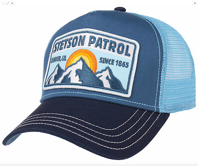 Trucker Cap Patrol STETSON NEW collection