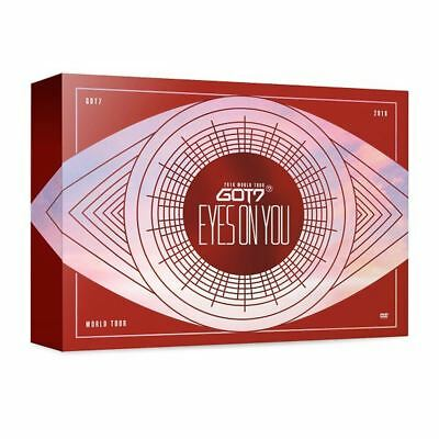 GOT7 2018 World Tour EYE ON YOU Blu-Ray 3 DISC+Photo Book+Card+Tracking Number