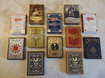 Playing Cards Collector Brick (Thorns and Roses, Oris, Outlaw, Devastation ++)