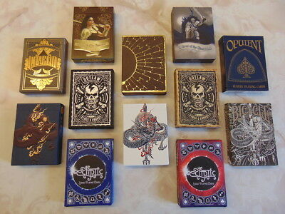 Playing Cards Collector Brick (Olympians, Sumi, Outlaw, Ecliptic Zodiac, +++)