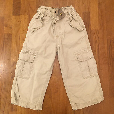 Boys chinos, Cherokee, 2-3 years, beige, lots of pockets