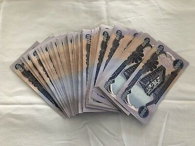 Iraqi Dinar 10 X 5,000 Dinar Notes Uncirculated Crisp Notes 50,000 Total