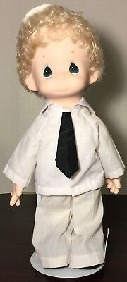 "Vintage 1986 Precious Moments ""Sailor Sam"" Limited Edition Doll w/ Stand Rare"