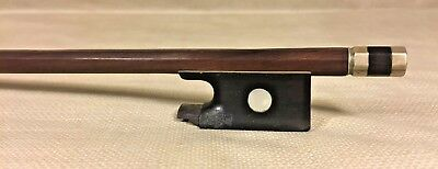 Vintage 6 Sided Shaft Wood Violin Bow Unknown Maker & Country of Origination