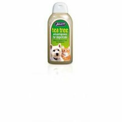 Johnsons Tea Tree Shampoo 400ml G032