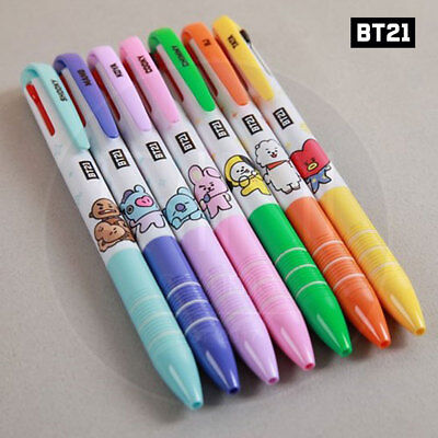 BTS BT21 Official Authentic Goods 3Color Ball Pen 7Characters SET By Kumhong