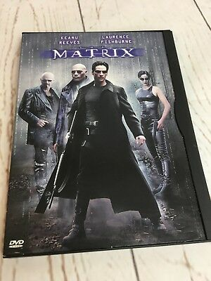 The Matrix (DVD, 1999) Keanu Reeves, Laurence Fishburne- Non Rental