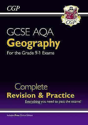 New Grade 9-1 GCSE Geography AQA Complete Revision & Practice (with Online...