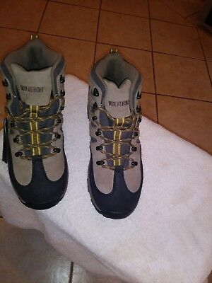 af15193c4a1 WOLVERINE MEN WILDERNESS Waterproof Hiking Boots new with tags