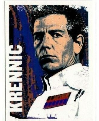 2016 Topps Star Wars Rogue One Character Icon Cards #Ci-2 Director Krennic Card