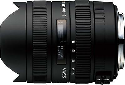 Sigma 8-16mm f/4.5-5.6 HSM DC Lens For Canon EF. U.S. Authorized Dealer
