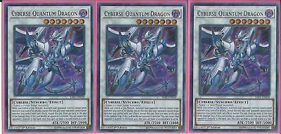 Sast-En038 Cyberse Quantum Dragon – Ultra Rare - 1St Edition 3X, Get Yours 1St!