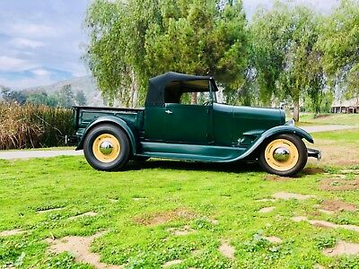 """1929 Ford Other Roadster Truck Convertible 1929 Ford Roadster Hemi T5 Speed """"Sleeper"""" Custom Built Hot Rod Southern Cal RAM"""