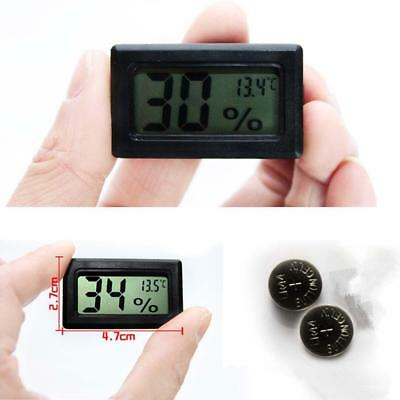 Mini Digital LCD Indoor Temperature Humidity Meter Thermometer Hygrometer NEW FT