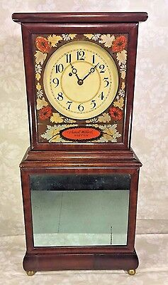 Aaron Willard Case Clock Weight Driven Replacement Pendulum & Weight Running