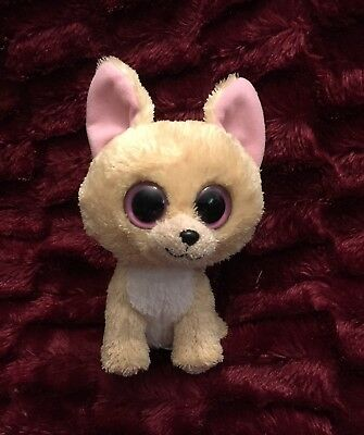 "5f65d5229ac Ty Beanie Baby Boo Plush Nacho Chihuahua Puppy Dog 6"" Stuffed Animal Toy  Babies"