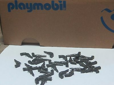 Lot 20 Playmobil Western Revolver Barrel Type Pistols (20 Per Pack) Brand New**
