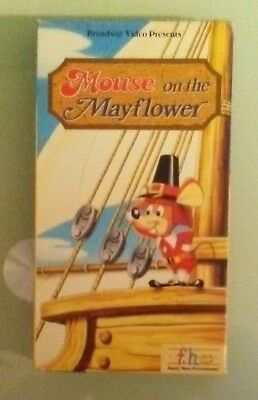 told sung by tennessee ernie ford MOUSE ON THE MAYFLOWER  VHS VIDEOTAPE sp mode