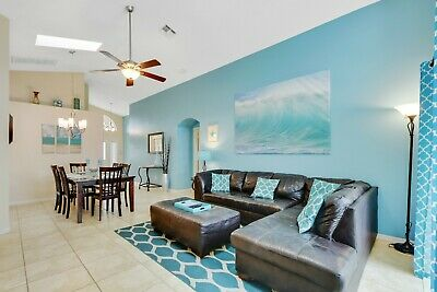 6 minutes from Disney (3 miles) - 4 Bedrooms Orlando Vacation Villa Private Pool