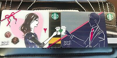 Starbucks Japan card -  New Valentine 2019 card for 1 pair