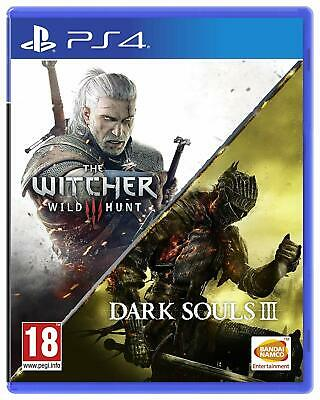 The Witcher III: Wild Hunt + Dark Souls III Compilation (PlayStation 4)