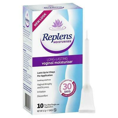Replens Vaginal Moisturiser 10 Applications