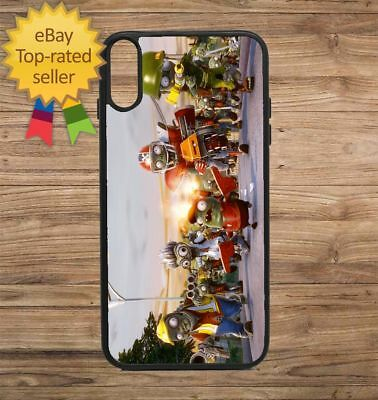 Plants Zombies Road Phone Case for iPhone Galaxy 5 6 7 8 9 X XS Max XR