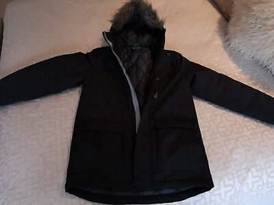 Next Boys Parka Shower Resistant age 11 immaculate