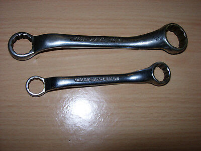 Britool Whitworth BS Short Reach Ring Spanners 6RB Range