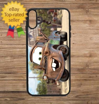 Cars Movie Tow Mater Phone Case for iPhone Galaxy 5 6 7 8 9 X XS Max XR