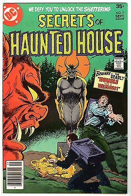 Secrets of Haunted House #7, Very Fine Condition