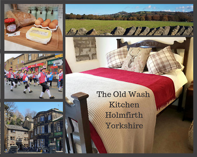20% off! March 2019 3 Night weekend break Holmfirth Yorkshire cottage for 4 £172