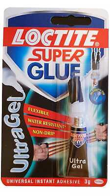 Loctite Super Glue Precision Max Ultra Gel Instant - Extra Strong 3g Tube Sealed