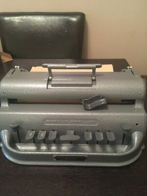 Perkins Large Cell Brailler / Large Cell Braille Typewriter
