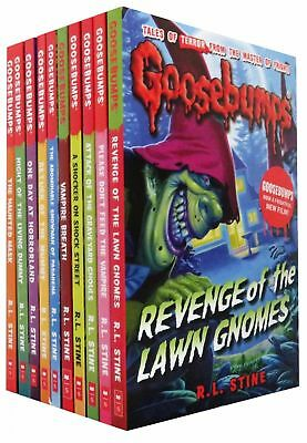 R.L.Stine - Goosebumps Collection x10 Books Set NEW Children's Fiction - NEW