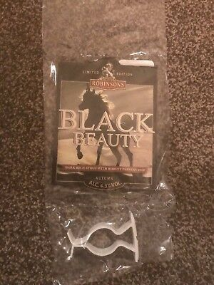 Robinsons Black Beauty Beer Pump Clip Breweriana Brand New Free Fast P+P