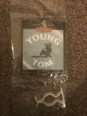 Robinsons Young Tom Beer Pump Clip Breweriana Brand New Free Fast P+P