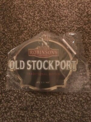 Robinsons Old Stockport Beer Pump Clip Breweriana Brand New Free Fast P+P