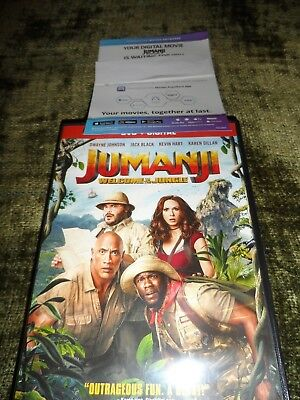 Jumanji Welcome To The Jungle ( 2018) - Digital Code ONLY