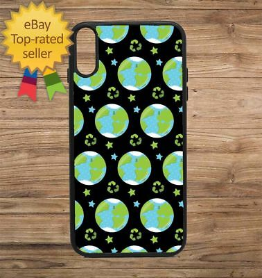 Earth Day World Print Phone Case for iPhone Galaxy 5 6 7 8 9 X XS Max XR