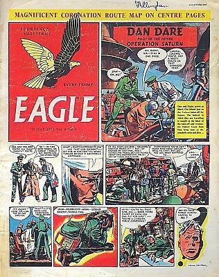 EAGLE - 15th MAY 1953 - SPECIAL CORONATION FEATURE !! VERY COLLECTABLE !!..dandy
