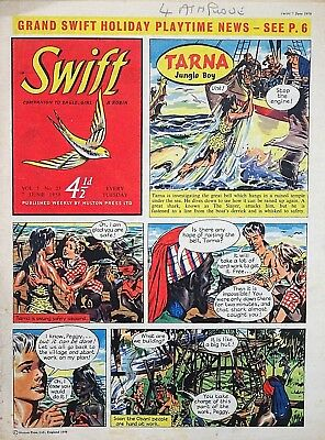 SWIFT - 7th JUNE 1958 (3 - 9 June) - YOUR WEEK OF BIRTH ?? VG+..eagle girl robin