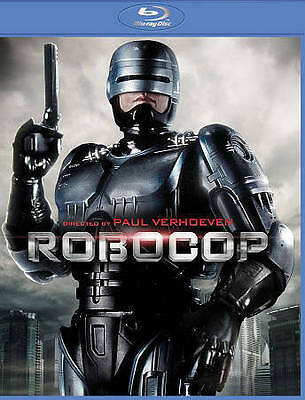 *NEW* Robocop (1987 original) Unrated Director's Blu-ray, 2014 *REMASTERED*