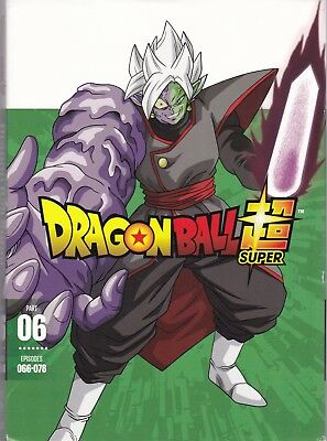Dragon Ball Super Part Six: Episodes 066-078 (DVD, 2019, 2-Disc Set)