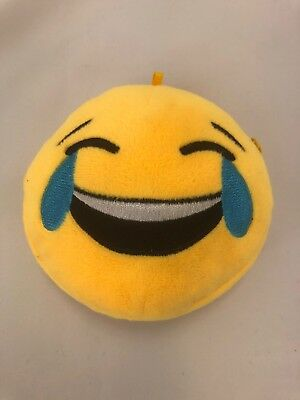 0857b5b128d Emoji LOL plush coin pouch purse change holder Superskunk laughing crying