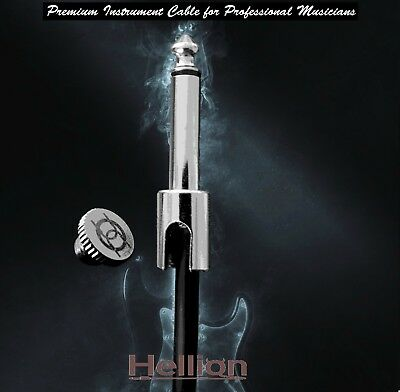 Hellion Solderless Guitar Patch Cable Kit - 10ft (3m) cable - 10 plugs